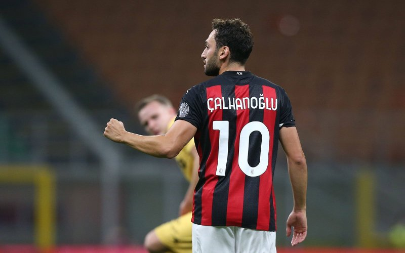 "Çalhanoğlu: ""I'm free in the head and the coach gives me his confidence, we  knew that it was going to be difficult"" 