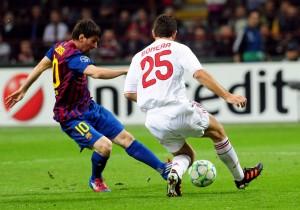 SPORT, QUARTI DI FINALE CHAMPIONS LEAGUE : MILAN - BARCELLONA