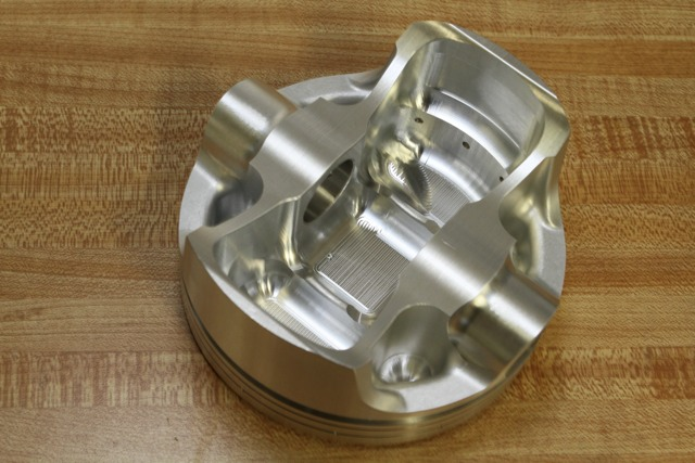 Ross Pistons Weight Removal Process