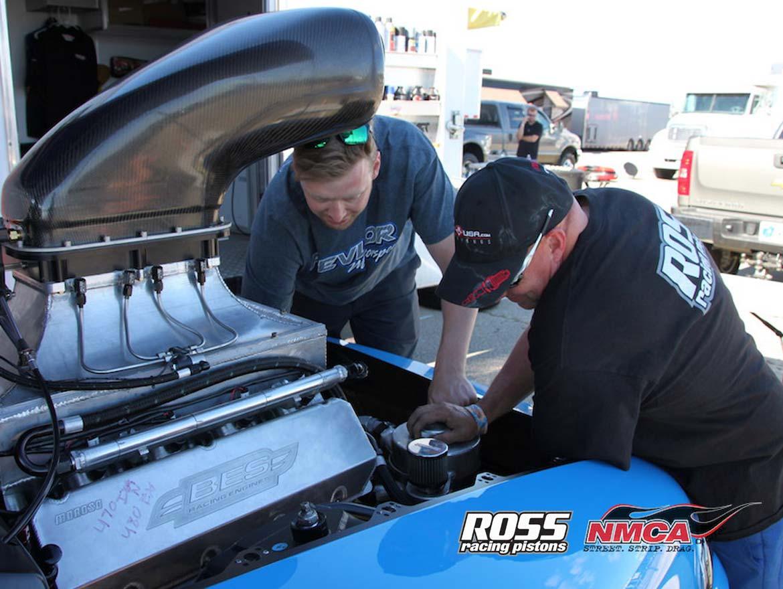 Nick Bacalis Bes Racing Engine Ross Pistons