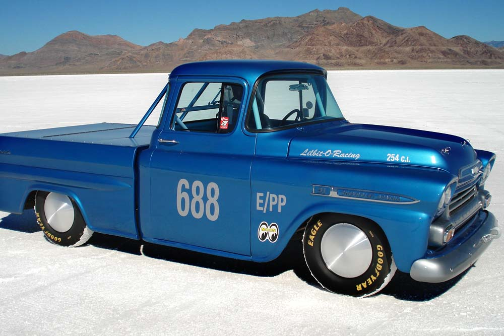 Larry Lancaster Ross Racing PIstons Salt Flats Racing