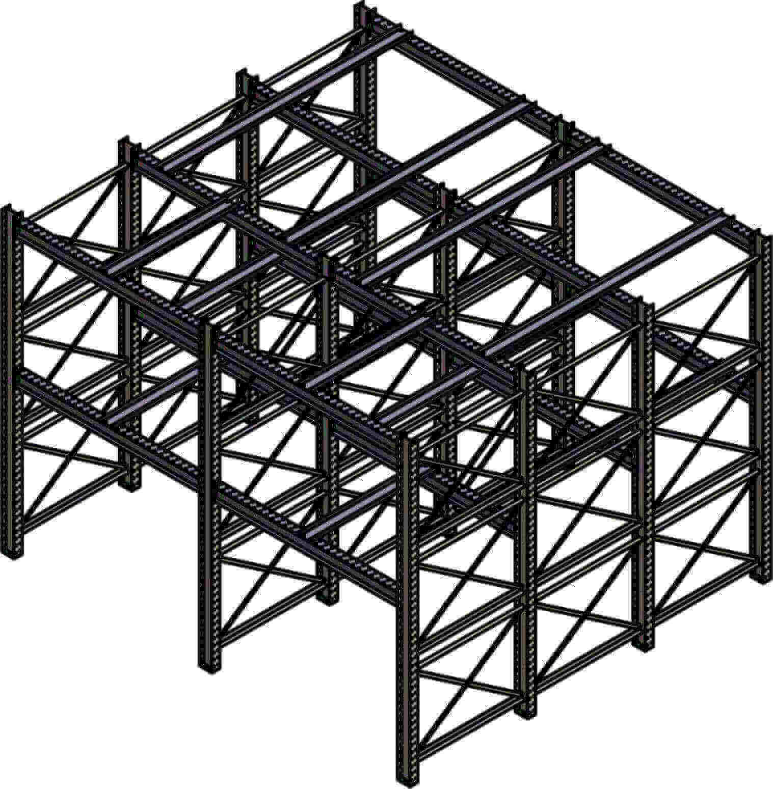 Dexco Structural I Beam Specialized Rack Systems