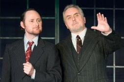 L to R - Peter Warden as Ober, Ron Talbot as Perkins
