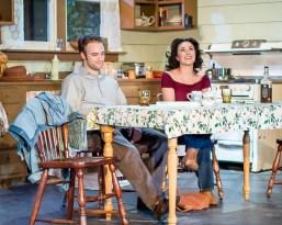 L-R, Michel Harris as Doc Porter; Chandler Parrot-Thomas as Meg Magrath