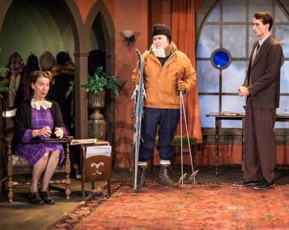 Tori Truss as Mrs. Boyle, Steven Samp as Sgt. Trotter