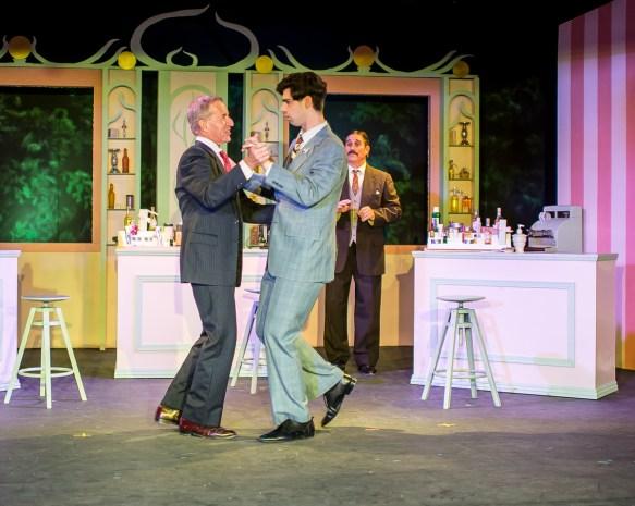 Ron Dritz as Mr. Maraczek, Max Kligman as Georg Nowack