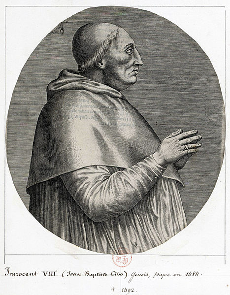 Papa Inocentiu al VIII - lea_1492