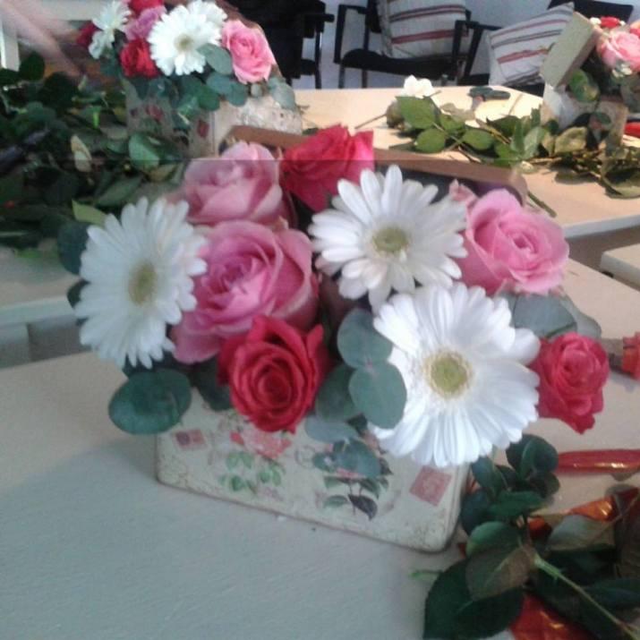 atelier floral mai 2015