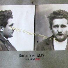 Max Goldstein, autorul primului atac terorist din România în decembrie 1920 cînd a plasat o bombă în Senatul României