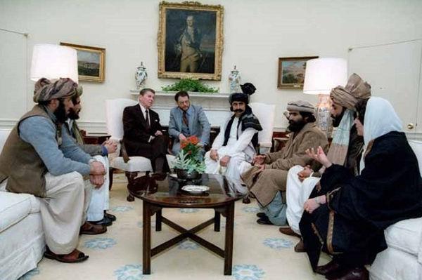 Intilnire Reagan mujahedini Biroul Oval