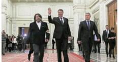 Senatorul USR Mihai Goțiu cu banderola