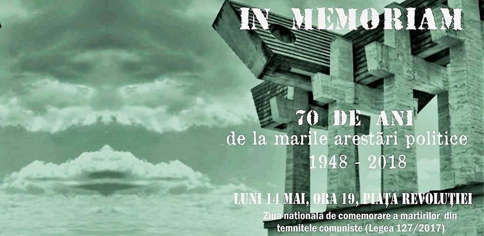 Comemorare: 70 de ani de la marile arestări din 14 Mai 1948