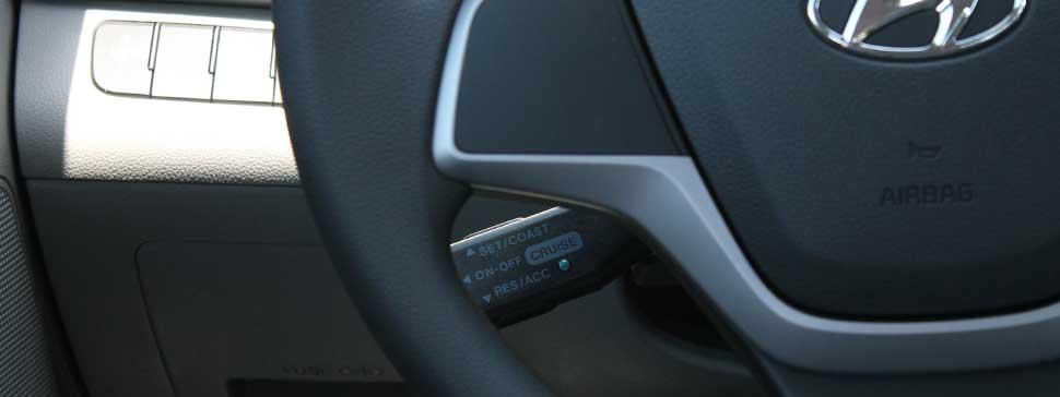 Add cruise control to 2017 Hyundai Elantra
