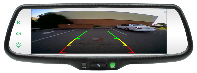 3 way multiple light wiring diagram gingerbread venn rearview mirror with 7.3-inch lcd screen now available!