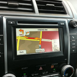 Rostra SoftTouch 250-7613 installed on 2013 Toyota Camry with factory 6.1-inch touch screen