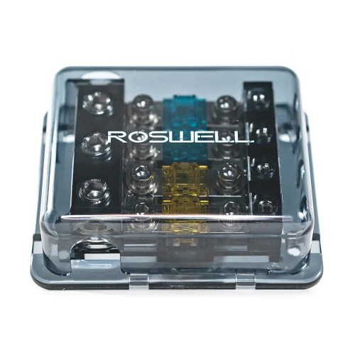 small resolution of roswell marine audio distribution block 1 in 4 out fused