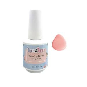 Bunny & Bunny Soak off gel Polish - Chiffon Pink
