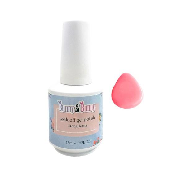Bunny & Bunny Soak off gel Polish - Lovie Blush