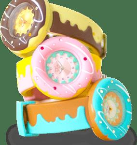 Dress 'N Dazzle Donut Watch