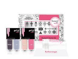 澳洲品牌 [Bloop] Stamp It! 4色印章凝膠指甲油套裝 {Tribal}