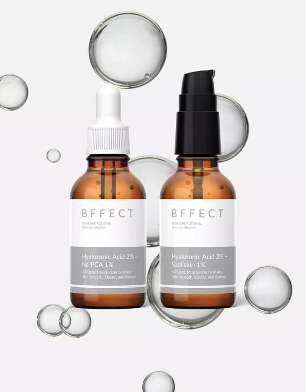 BFFECT Hyaluronic Acidday & night moisturizing kit