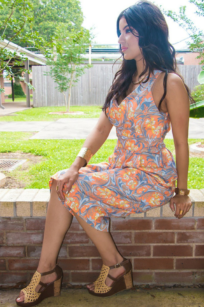 Retro Style Jumpsuit + Pattern Review: McCall's 7167 - Rosy   Peña