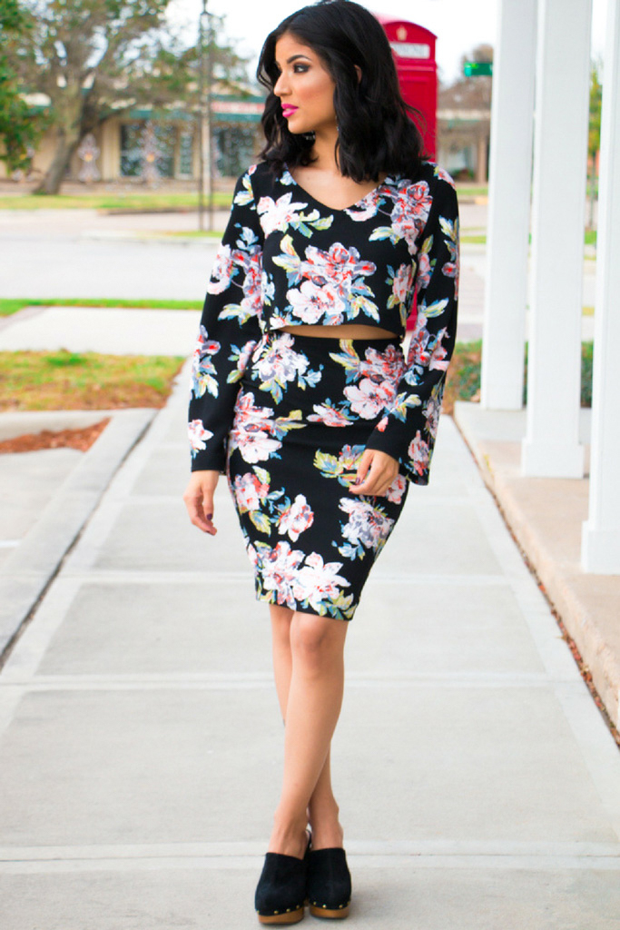Flirty Floral Separates - ROSY | PEÑA