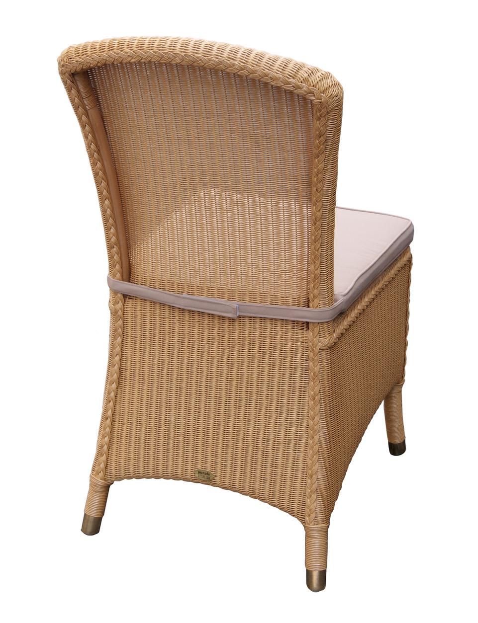 lloyd loom stoel zonder armleuning exclusief en original
