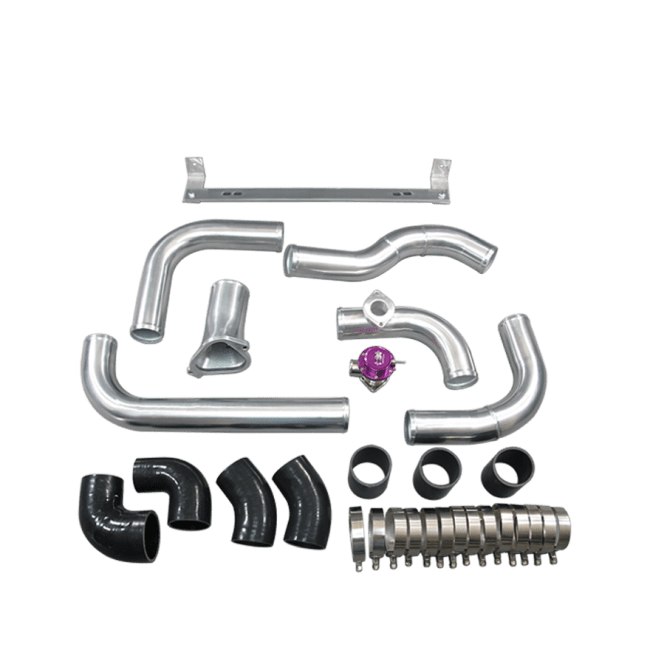 Front Mount Intercooler Kit For 86-91 Mazda RX7 RX-7 FC FC3S