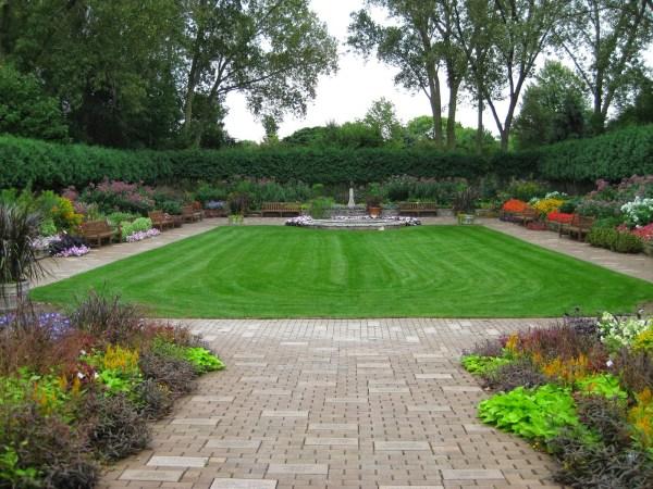 sunken garden - rotary botanical