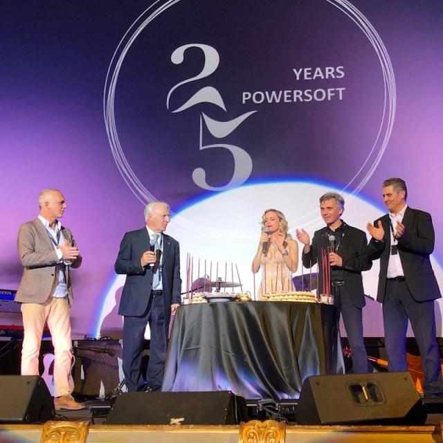 Festeggiati i 25 anni di Powersoft a Firenze