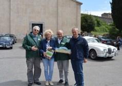 20 Rotary COAST TO COAST prima della partenza per Cortona
