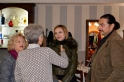 Anna Montemaggi con gli ospiti