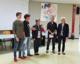 Premio a Niccolò Cappellini e Guglielmo Mattafirri cl.3B