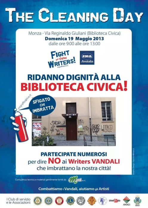 Cleaning Day Maggio 2013 - - Biblioteca civica