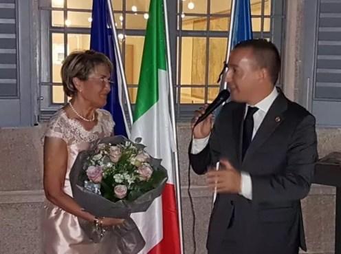 Rosalba Velli Saletti con xxxxxx del RC Villa Reale