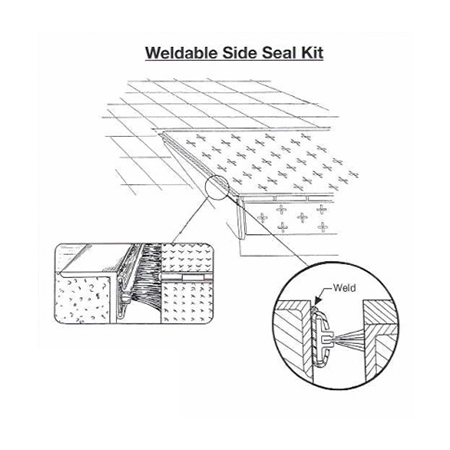 Weldable Side Seal Kit