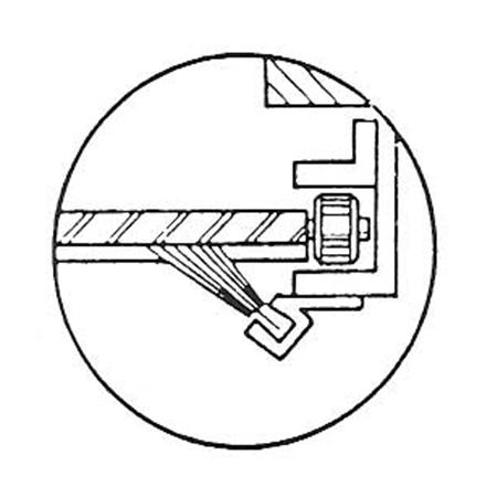 Reverse Angled Brush Mountings