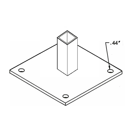 """BS12 Base Plate 12"""""""