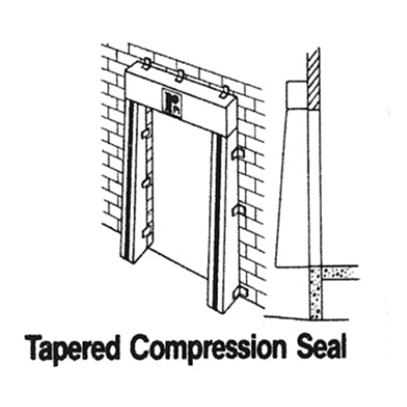 Tapered Dock Seal