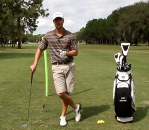 Fine tune your fade, and eliminate the right side of the course with this drill.