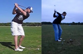 Golf Backswing – How the Arms Work in the Backswing