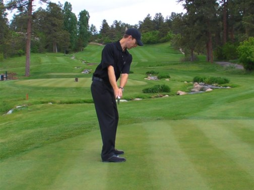 simple golf swing takeaway