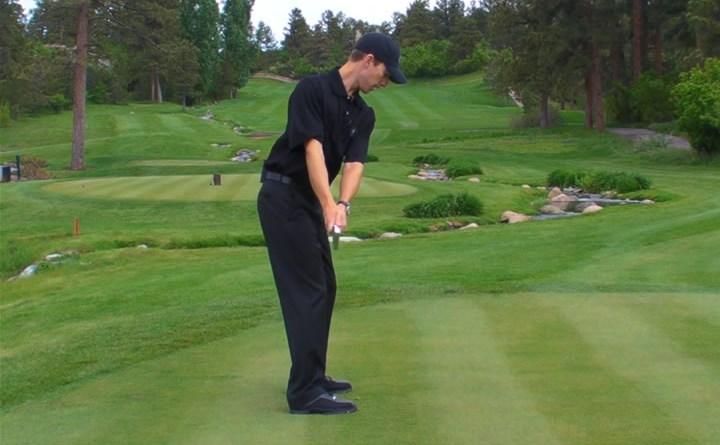 simple golf swing takeaway