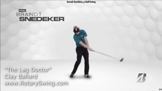 Brandt Snedeker's Swing: Slow the Hands and Arms in Your
