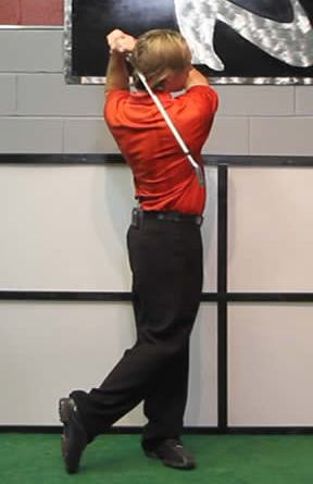 weight transfer in golf swing