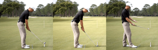 Use your setup in golf to shape shots, adjusting your alignment in golf is just part of the equation.