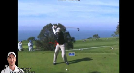 D.A. Points Hips, golf swing whip, Swing Analysis