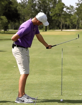 golf drill to stop slice