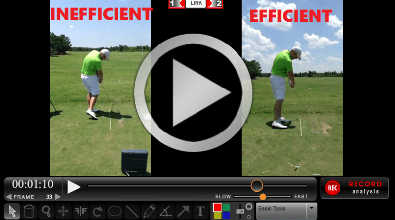 3 steps to a perfect golf impact position